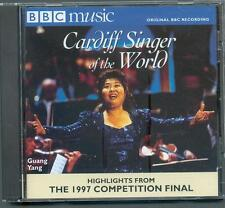 CARDIFF SINGER OF THE WORLD 1997 HIGHLIGHTS FROM THE COMPETITION FINAL - BBC CD
