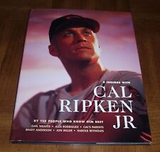 CAL RIPKEN, JR BOOK-9 INNINGS-BY THE PEOPLE WHO KNOW HIM BEST-FIRST EDITION-1998