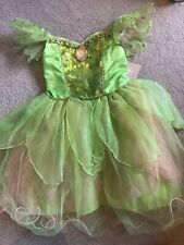 ShopDisney Disney Store Tinkerbell Tinker Bell Costume Fancy Dress Up Girl 5-6Y