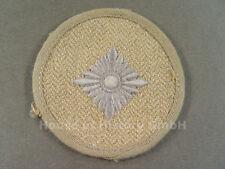 56102 Armabzeichen, Oberschützenstern, grau auf beigen Drillich-Stoff