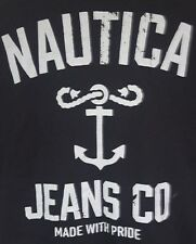Nautica Jeans co t-shirt 2xl slim fit black Njc 57th st Support group