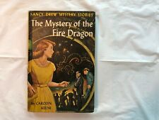 Vintage Nancy Drew #38 The Mystery of the Fire Dragon 1961 Picture Cover