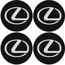 LEXUS Emblem Felgen Aufkleber Logo Nabendeckel Nabenkappe Radkappe 4x56mm