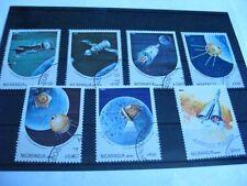 Nikaragua - Nicaragua,Kosmos,1984 Jahrestage der Weltraumforschung,Satz kpl.°,