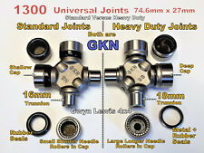 Land Rover Defender Discovery Heavy Duty Genuine GKN Propshaft UJ 74.6mm x 27mm