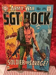 1970 DC Comics Our Army at War Sgt. Rock # 220