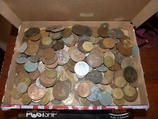 Job lot of 1.5kg of world coins Unsorted (WC15)