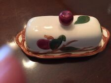 VINTAGE FRANCISCAN APPLE USA COVERED BUTTER DISH BEAUTIFUL!