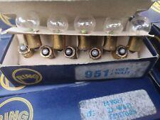 6 VOLT 6 WATT SIDE LIGHT / NUMBER PLATE  BULBS  X 10