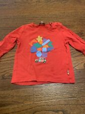 paul smith baby, tshirt, long sleeve, red, brand name, 18 month