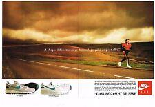 Publicité Advertising 1988 (2 pages) Les Baskets Nike Air Pegasus
