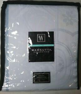 "Wamsutta Gardiner 68"" x 103"" TABLECLOTH 100% Cotton Periwinkle Blue Seats 8-10"