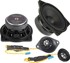 "Ground Zero 4"" 2 Way Component Speaker Set Upgrade Kit BMW X6 E71 Rear"
