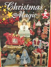 Christmas Magic Plastic Canvas Patterns 1995 Hardcover Over 100 Designs