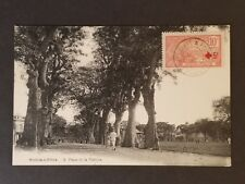 1920 Pointe-à-Pitre Guadeloupe Place Victoire RPPC Real Picture Postcard Cover