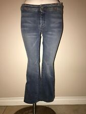 7 For All  Mankind Denim Blue Jeans Vintage Retro Stretch Cotton Size 27