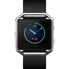 Fitbit Blaze Large Black Xrafb502 Complete Smart Watch Great Extra Charger&strap