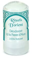 Deodorant ALUM ROCK from Rituels D'Orient 60g - FREE SHIPPING BY AUSTRALIA POST