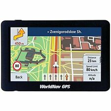 """Worldnav 588060 Worldnav 5880 High-resolution 5"""" Truck Gps Device"""