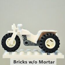 New Genuine LEGO White Tricycle City 9427