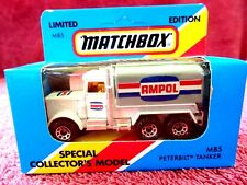 MATCHBOX  LIMITED EDITION 1981  MB 5  TANKER  'AMPOL'  MADE IN MACAU  UNOPENED