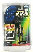 Han Solo Star Wars Kenner Hasbro POTF Freeze Frame Action Figure 1995 Sealed