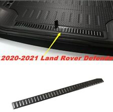 FOR 2020-21 Land Rover Defender Black S.steel Rear Bumper Protector Cover Trim