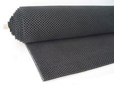 "Perforated Neoprene Sheet (AirFlo® Rubber Sheet 1/4"") Size 24""x 48"" Black"