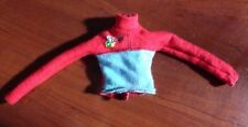 Barbie Doll Long Sleeve Red And Blue Shirt