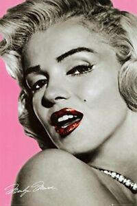 Marilyn Monroe Lips Poster 24x36