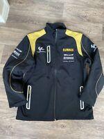 DeWalt Moto GP Yamaha Tech 3 Soft Shell Jacket black Gold Large