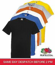 Fruit of The Loom Men's Heavy/ Value weight Cotton T - Shirt