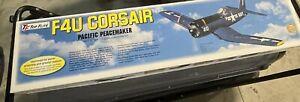 Vintage F-4U Corsair Radio Control 1/8 Airplane Pacific PaceMaker Top Flite