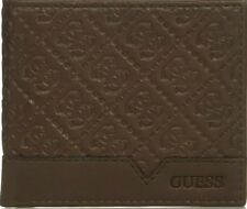 Guess by Marciano Men's Leather Billfold Zipper Coin Pocket Wallet 31GU130027