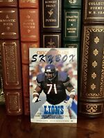 Chicago Bears vs. Detroit Lions Skybox Ticket Stub Sept. 14, 1997 Soldier Field