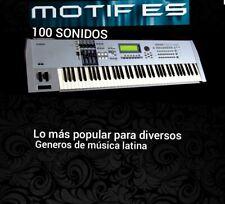 YAMAHA MOTIF ES Samples colección para cumbia/banda/TC/norteño y otros géneros