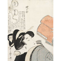 Kitagawa Utamaro Untitled Canvas Art Print Poster