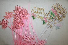 plastic happy mothers day picks choose quantity cakes gifts flowers etc
