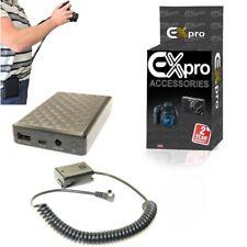 Portable USB Battery Power Supply For NP-FW50 DR-FW50 Sony NEX-5 NEX5 Grip Alt.
