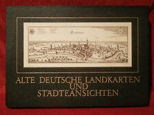 Alte deutsche Landkarten und Städteansichten.  EXEMPLAR A 699  aus dem Jahr 1969