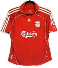 Liverpool FC Shirt 2006/2007/2008 Medium Ladies Home Adidas 12A 30 - 32