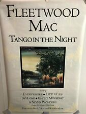 Huge Uk Subway Promo Poster Fleetwood Mac Tango in the Night 1987 Stevie Nicks