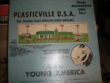Plasticville ta1 train accessory unit complete original box