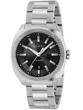 Gucci GG2570 Black Dial Stainless Steel Men's Watch YA142301