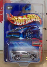 2004 Hot Wheels #007 ZAMAC TOONED 360 MODENA Collectible Die Cast Car