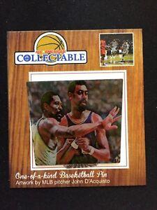 Boston Celtics Bill Russell/Wilt Chamberlain lapel pin-Hardwood Legends/GOATS