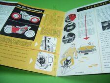 406KA2 Alter Puch Motorrad - Prospekt: PUCH SG, SGA, SGS, SGSA, 1950er Jahre