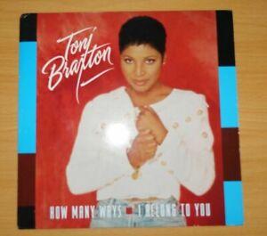 """Toni Braxton – I Belong To You / How Many Ways (Vinyl, 12"""" 1994) LaFace Record"""