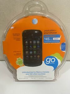 New Sealed ZTE Avail 2 Z992 3G GSM AT&T Go Phone Android Smart Phone