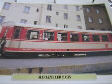 Die Eisenbahn 8 Österreich Die Mariazeller Bahn